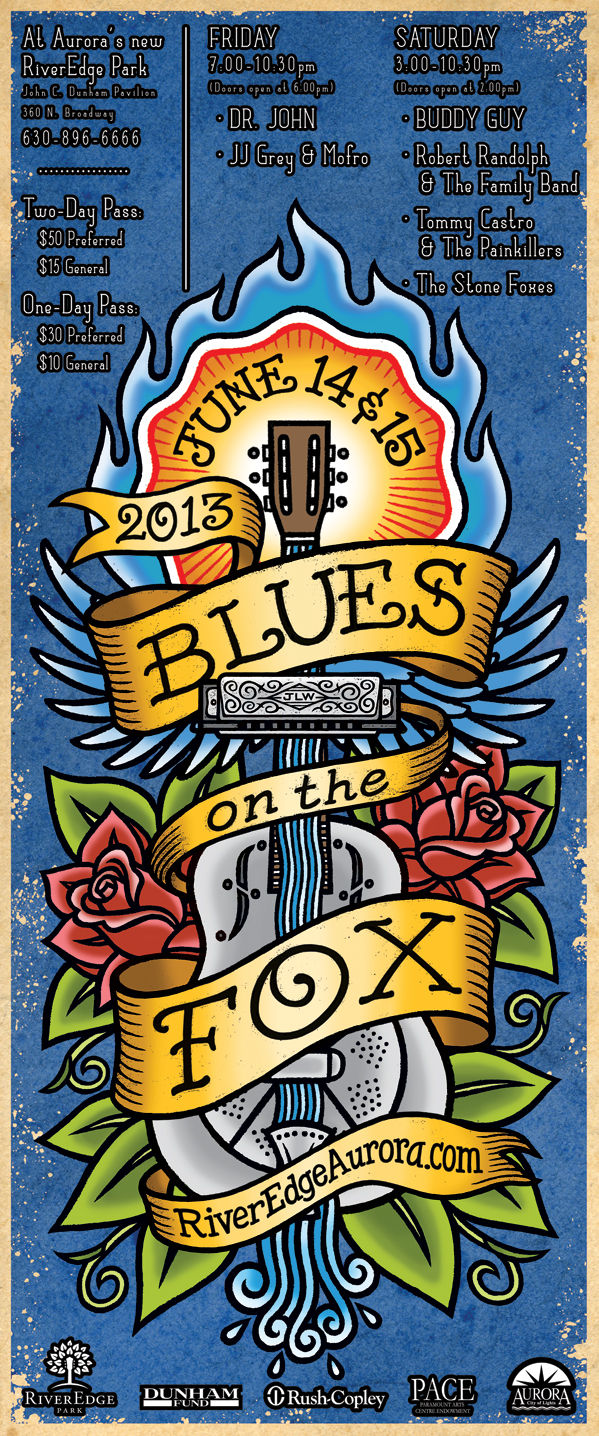 Blues on the Fox 2013